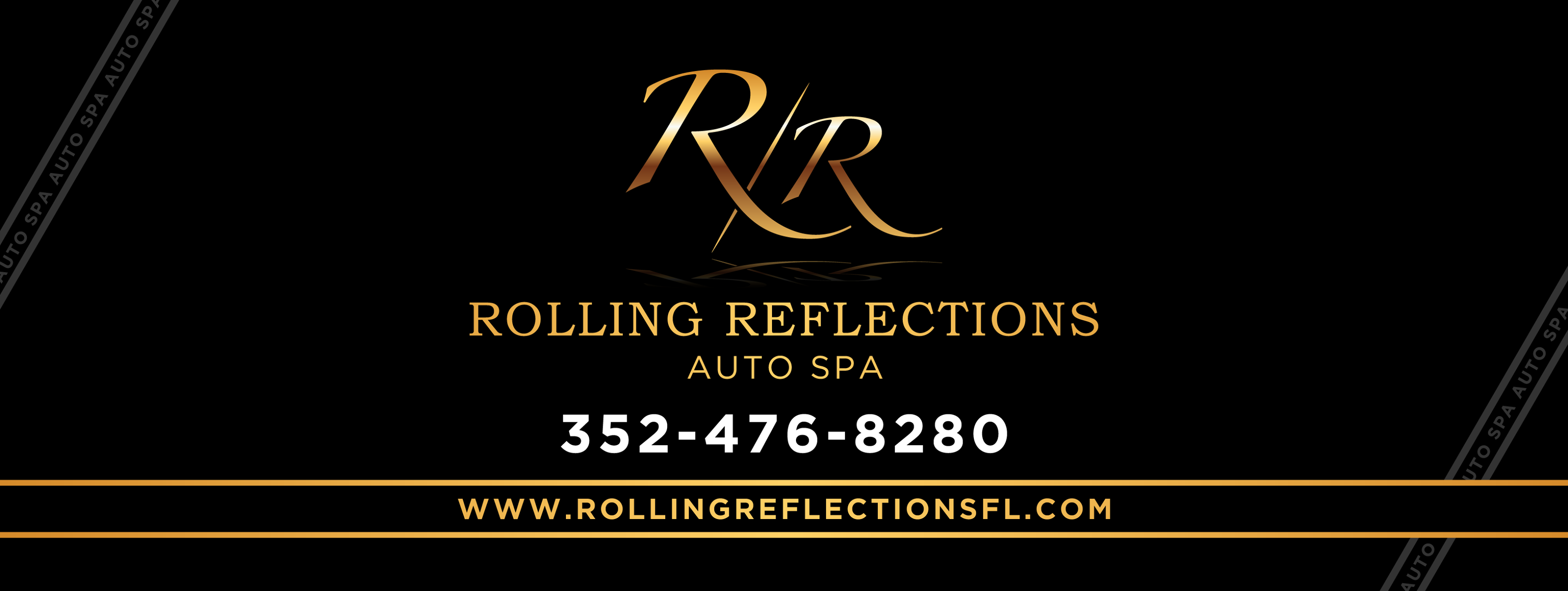 rolling reflections card